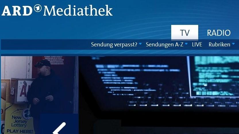 Die Mediathek der ARD