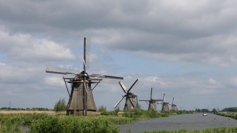 Windmühlen in den Niederlanden