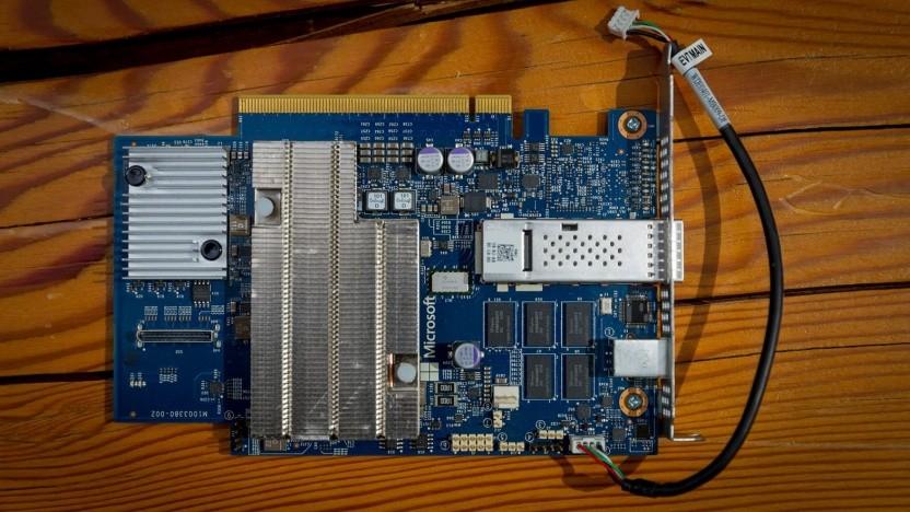 Diese FPGA-Karten werden in den Azure-Servern eingesetzt.