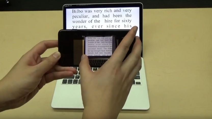 Text scannen mit Fontcode verrät: Wo wurde ein gedrucktes Dokument verändert?
