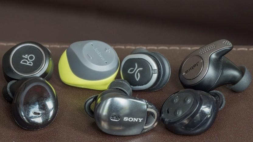 Sieben komplett kabellose Bluetooth-Ohrstöpsel im Test
