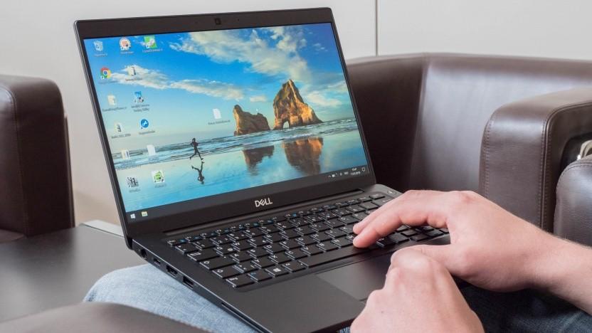 Das Dell Latitude 7390 sieht im Konferenzraum am besten aus.