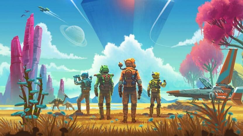 Artwork des Next-Updates für No Man's Sky