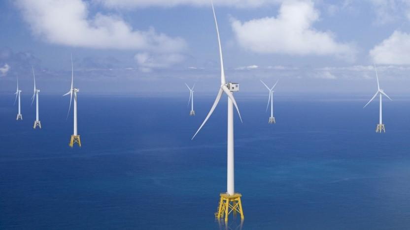 Windrad Heliade-X: Größere Windräder erfordern weniger Investitionen.