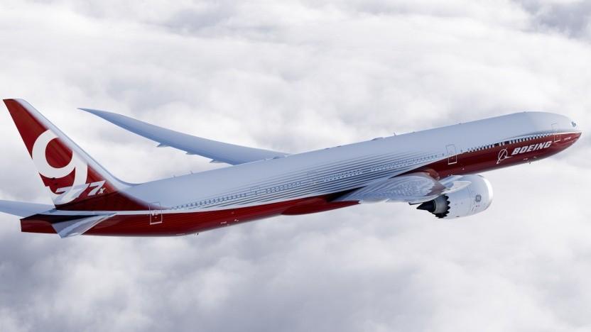 Verkehrsflugzeug Boeing 777x: neue Standards erstellt