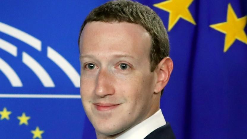 Mark Zuckerberg hatte vor dem Europaparlament leichtes Spiel.