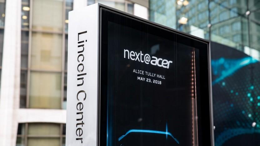 Acer zeigte in New York Nitro-Gaming-PCs mit Ryzen und viele neue Notebooks.