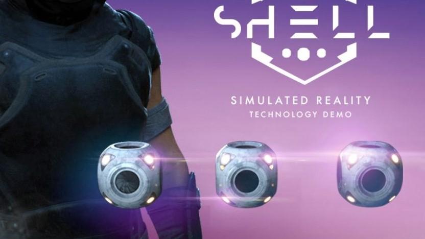 Die Shell-Demo erlaubt das Greifen von Elementen im 3D-Raum (Symbolbild).