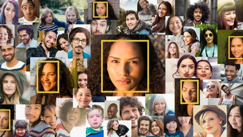 Amazons Software erkennt Gesichter.