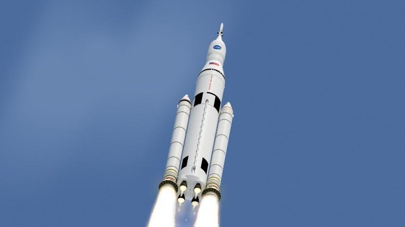 Trägerrakete Space Launch System: drei Jahre lang kein Start wegen Umbau