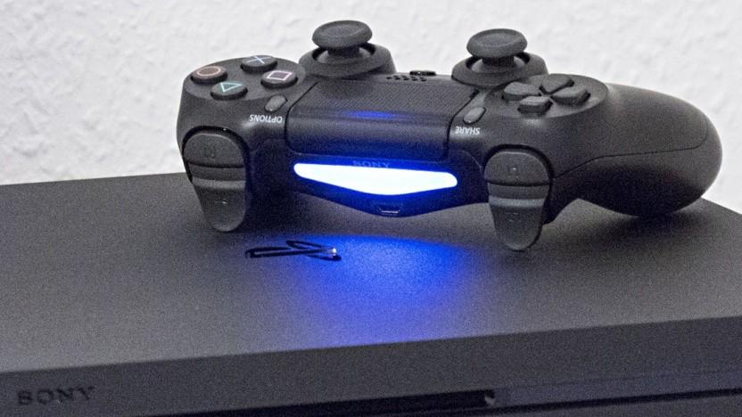 Eine Playstation 4 Pro