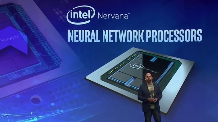 Naveen Rao, Gründer von Nervana, auf der Intel AI Devcon