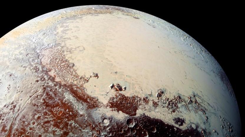 Sputnik Planitia auf Pluto: verblüffende Übereinstimmung mit dem Kometen Tschuri