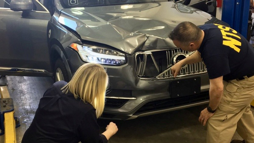 Das autonome Unfallauto von Uber