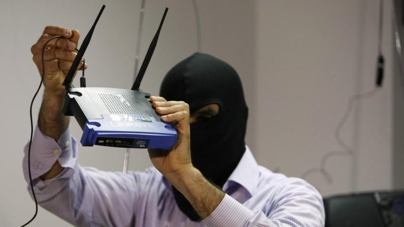 Ein Router-Botnetz soll für kriminelle Zwecke missbraucht werden.