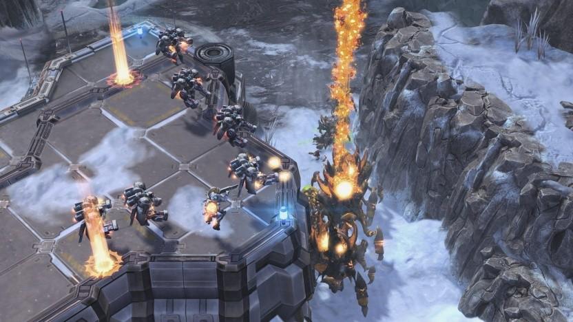 Szene aus der Starcraft-2-Erweiterung Novas Geheimmissionen: nicht sehr kreativ, einfaches Regelwerk.