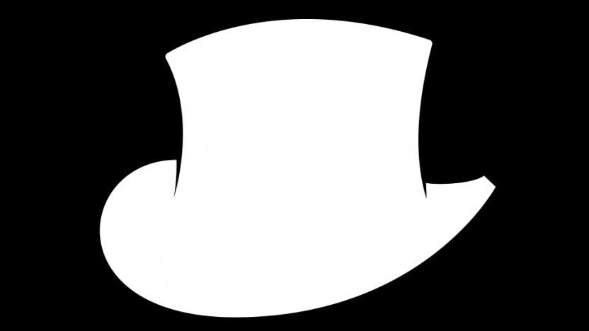 """Der Zylinder war das Markenzeichen von John """"TotalBiscuit"""" Bain."""