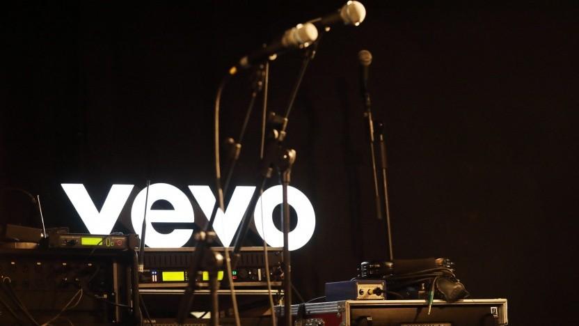 Werbebild bei Vevo Deutschland