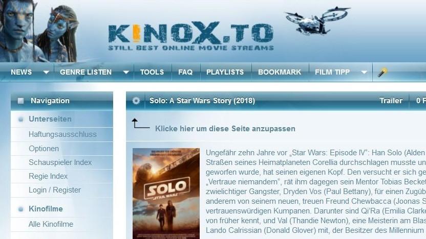 Aktueller Star-Wars-Film illegal kopiert