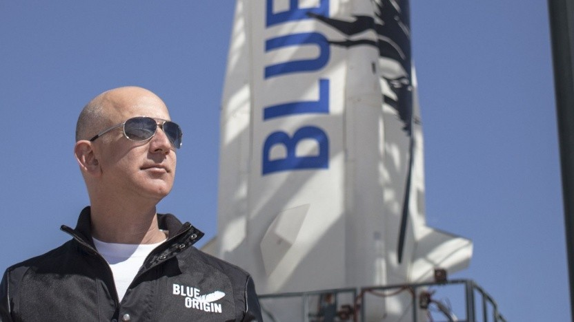 Jeff Bezos: mit einer staatlichen Raumfahrt oder allein