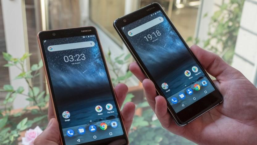 Nokia 3.1 und Nokia 5.1
