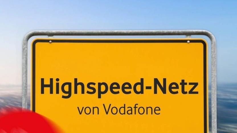 Werbebild von Vodafone
