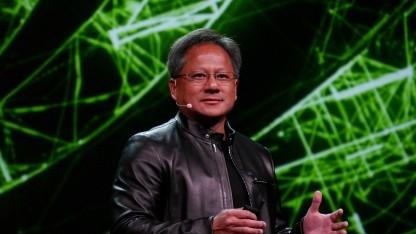Nvidia-CEO Jensen Huang auf der GTC 2018