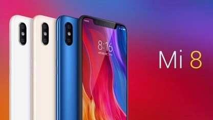 Xiaomi-Smartphones wie das Mi 8 gibt es jetzt auch bei Mobilcom-Debitel.