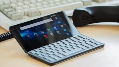 Das Gemini PDA läuft jetzt auch mit Android.