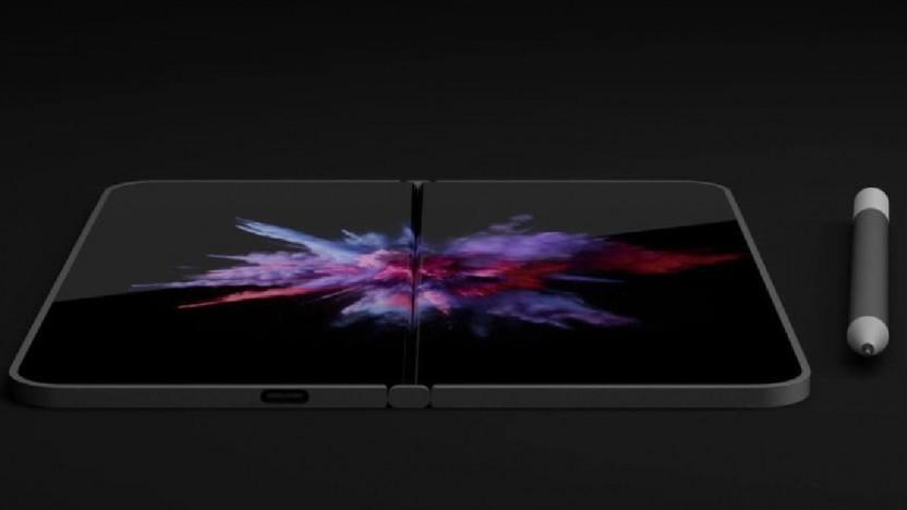 Dells Dual-Screen-Gerät könnte so ähnlich aussehen.