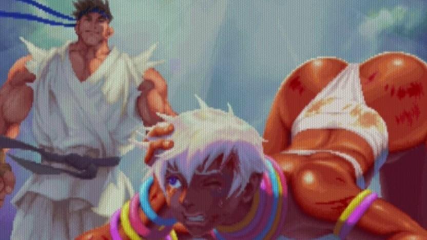 Ein Siegerbild in Street Fighter 3 3rd Strike