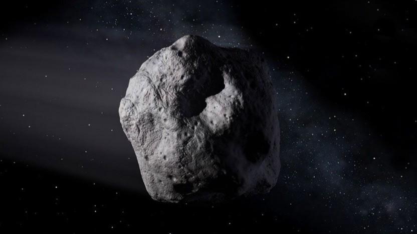 Kleiner Asteroid (Symbolbild): Die Modelle zur Vorhersage eines Einschlags sind angemessen.