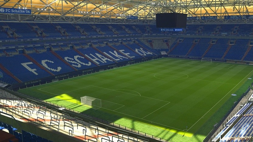 Artwork mit dem Stadion von Schalke 04 in PES 2019