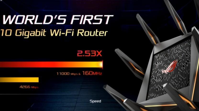 Asus zählt 1 und 1 zusammen und erhält 10 GBit/s.
