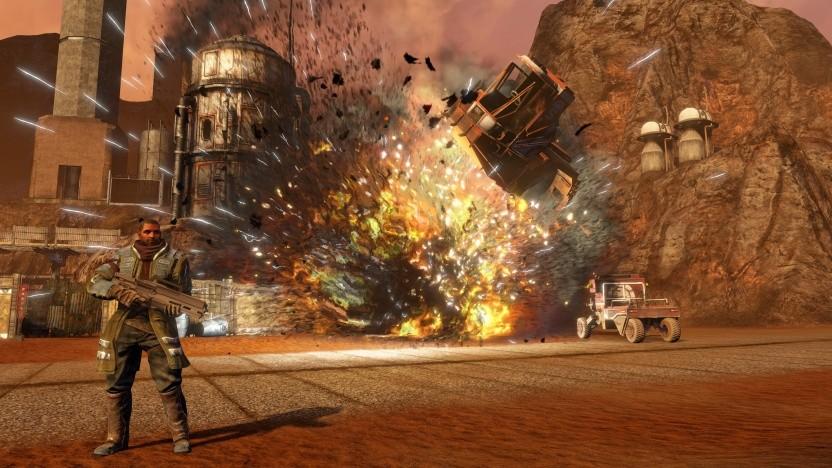 Die Remaster-Version von Red Faction Guerilla unterstützt auch 4K-Auflösungen.