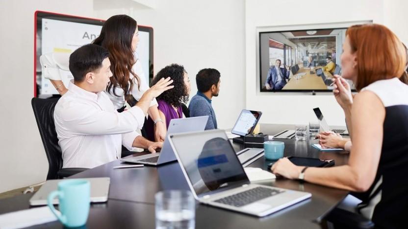 Google öffnet sein Videokonferenzsystem Hangouts Meet.