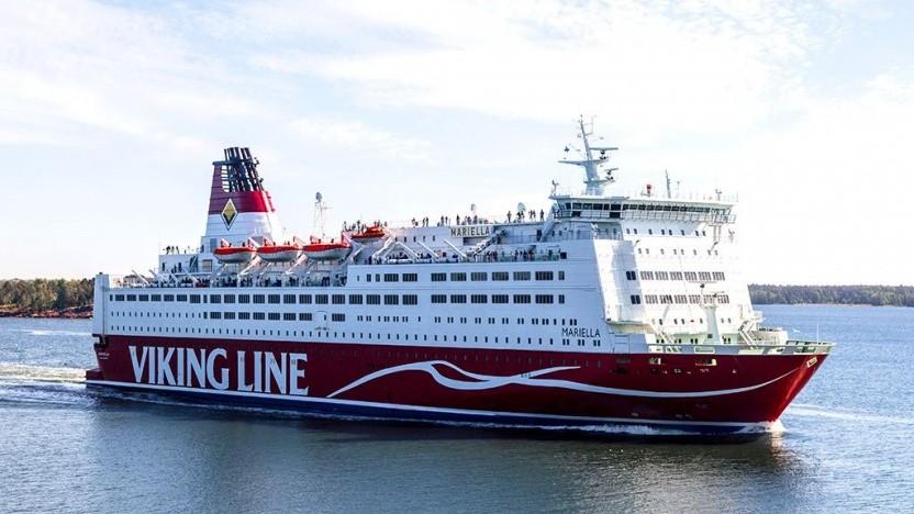 Ostseefähre Mariella: Die Brennstoffzellen müssen Schiffsbewegungen, Vibrationen und salzhaltige Luft aushalten.