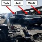Vorläufiger Unfallbericht: Teslas Autopilot beschleunigte vor tödlicher Kollision