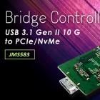 JMicron JMS583: Der erste USB-auf-NVMe/PCIe-Controller ist da