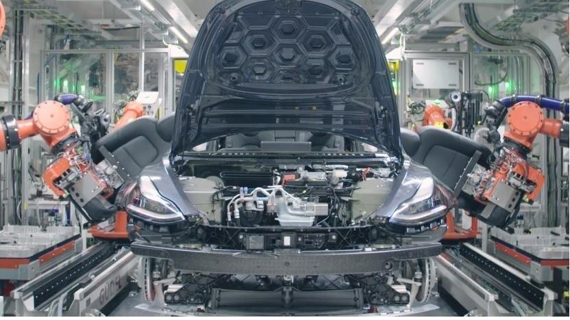 Produktion des Model 3