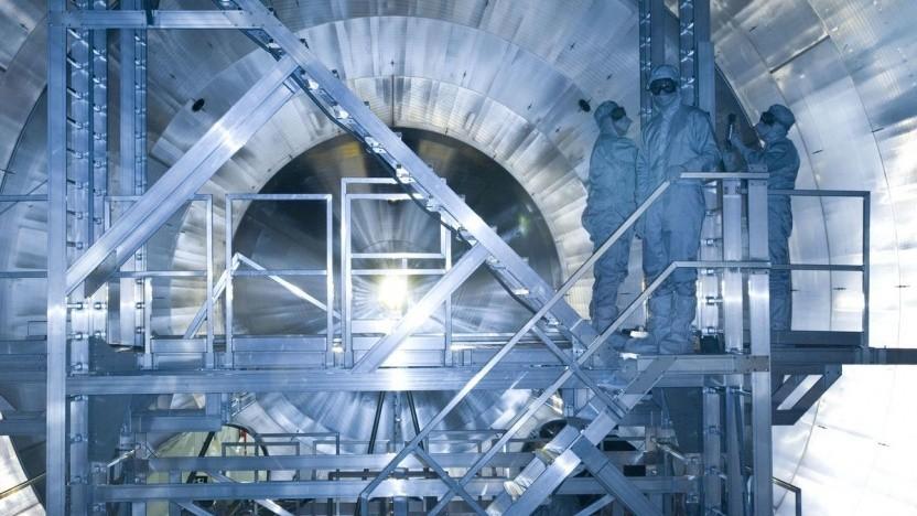 Forschungsanlage Katrin: Neutrinos durchdringen Materie meist spurlos.