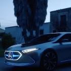 EQA: Mercedes-Benz zeigt vollelektrischen Kleinwagen-Prototyp