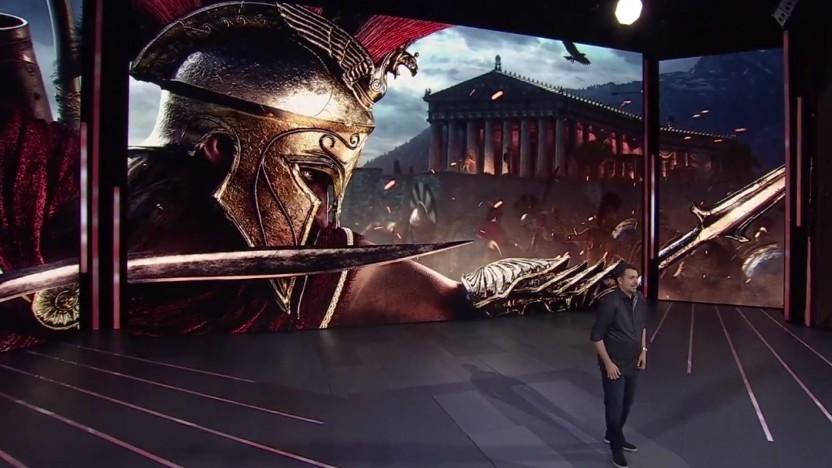 Bei der E3 2018 stellte Ubisoft Assassin's Creed Odyssey vor.