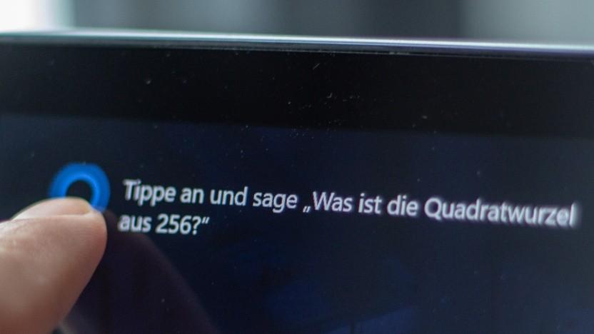 Cortana auf dem Windows-Lockscreen