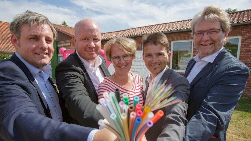Glasfaserausbau im Landkreis Lüneburg mit der Telekom
