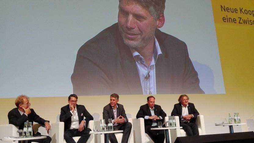 Das Panel Neue Kooperationen im Breitbandmarkt - eine Zwischenbilanz auf der Anga Com