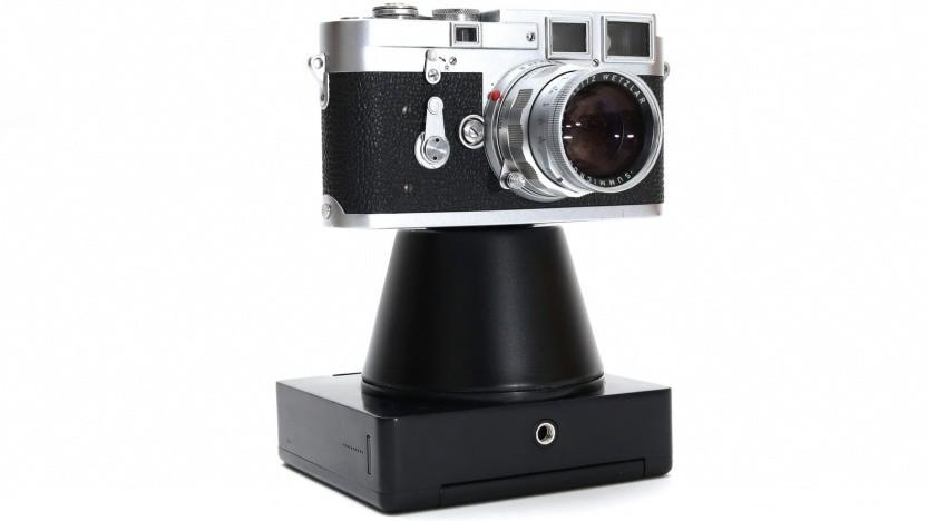 Analoge Kamera mit Magny 35: Film mit einer hohen Empfindlichkeit
