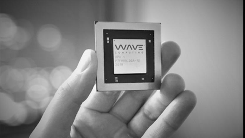 Ein DPU-Chip von Wave Computing