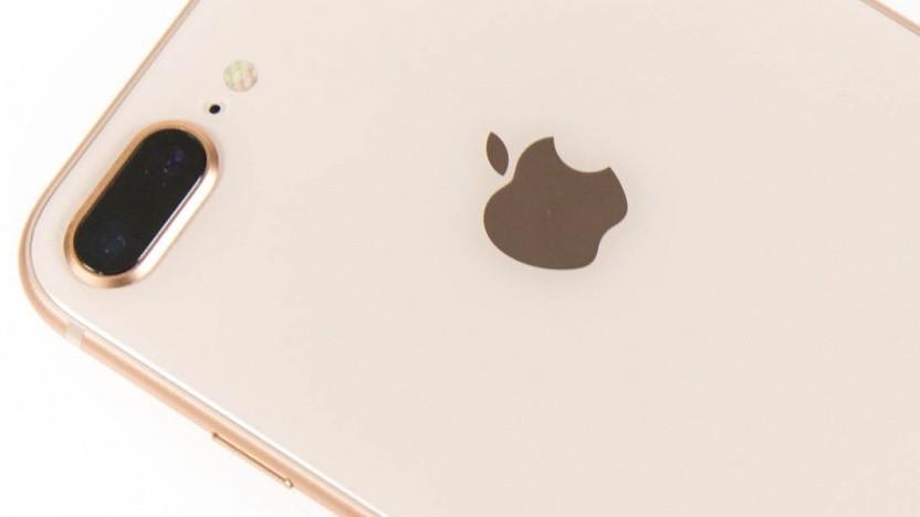 Rückseite eines iPhone 8