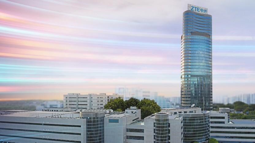 ZTE R&D Gebäude in Shenzhen